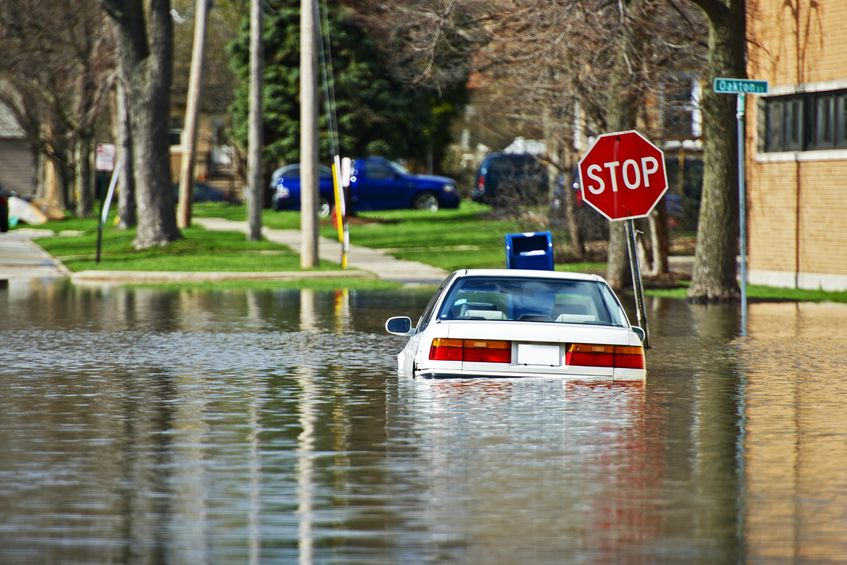 Waukesha, WI.  Flood Insurance